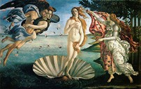 Botticelli's Birth of Venus painting
