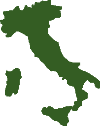 A an outline of Italy