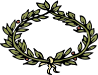 A laurel crown
