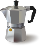 An Italian coffee maker