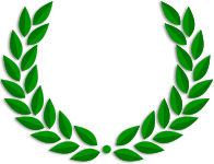 A laurel wreath
